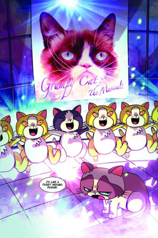Grumpy Cat #2 (Rare Uy Virgin Cover)