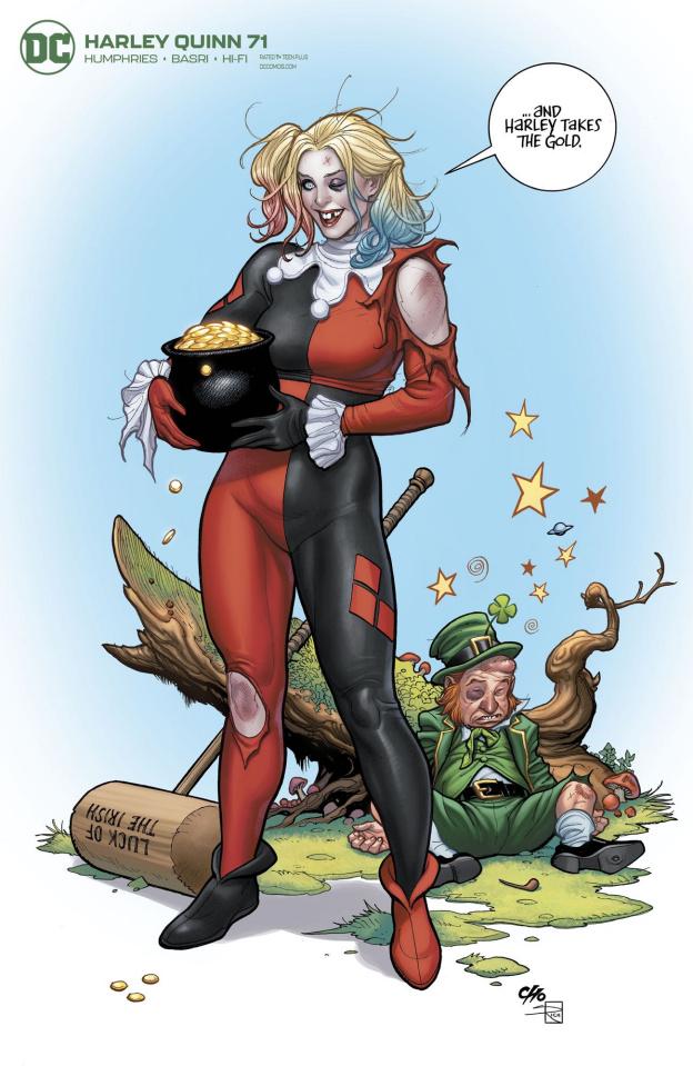 Harley Quinn #71 (Frank Cho Cover)