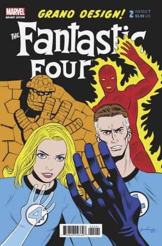 Fantastic Four: Grand Design #2 (Rugg Cover)