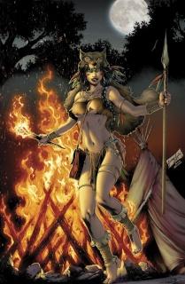 Grimm Fairy Tales: Dark Shaman #2 (Luis Cover)