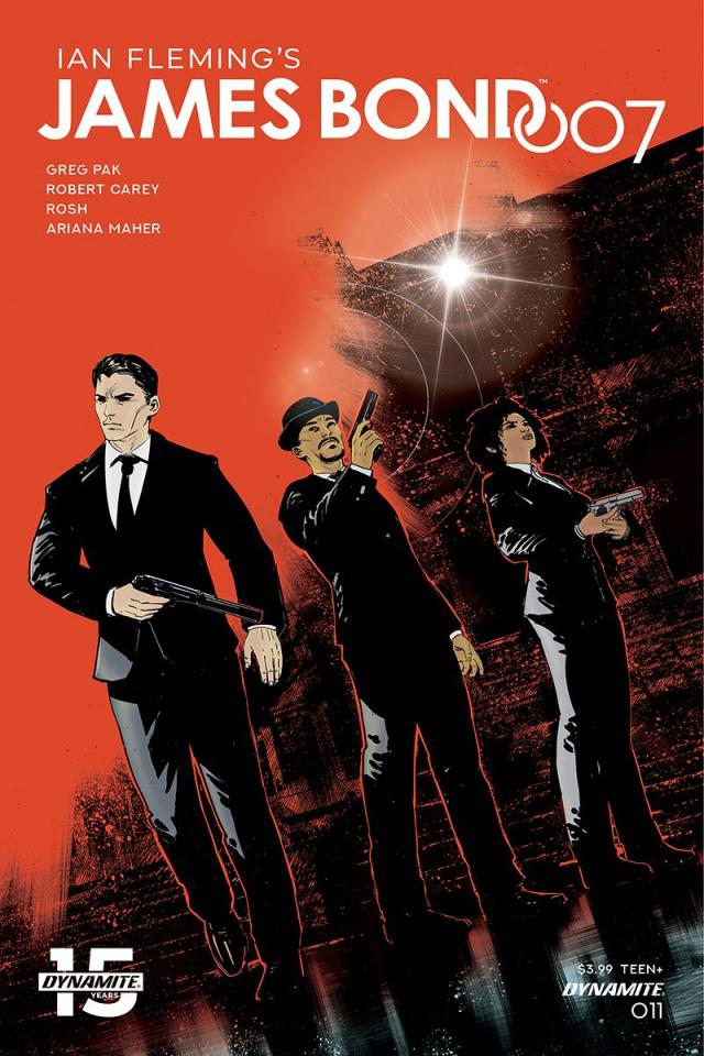 James Bond: 007 #11 (Carey Cover)