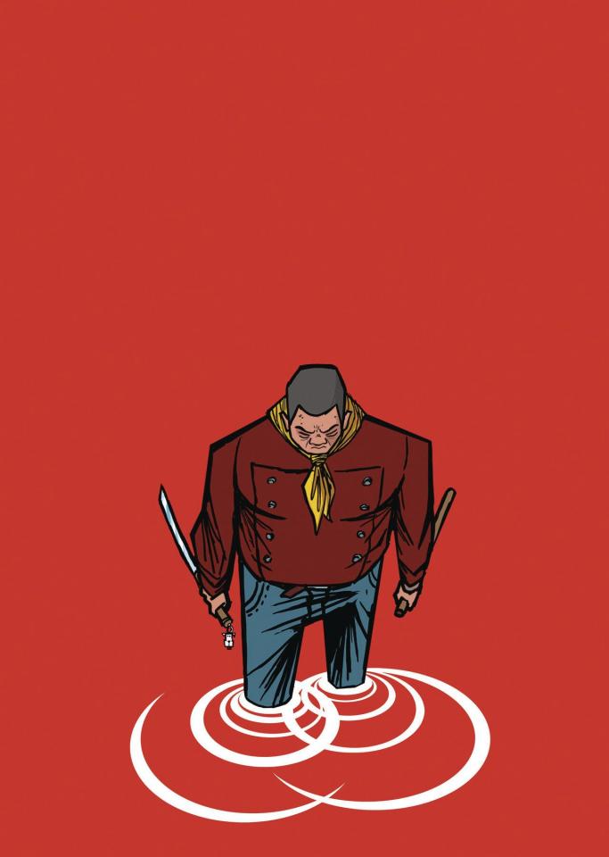 Shaolin Cowboy: Who'll Stop the Reign? #4 (Tartakovsky Cover)