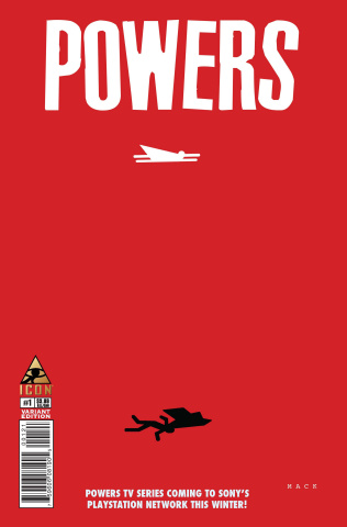 Powers #1 (Mack Cover)