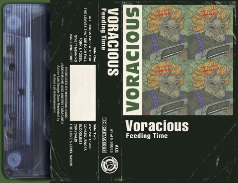 Voracious: Feeding Time #1 (Meat Is Murder Cover)