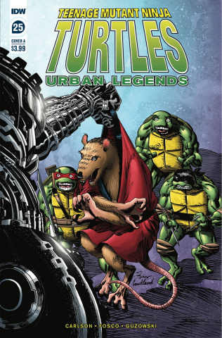Teenage Mutant Ninja Turtles: Urban Legends #25 (Fosco Cover)