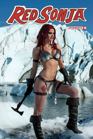 Red Sonja #18 (Decobray Cosplay Cover)