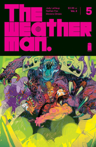 The Weatherman #5 (Fox Cover)