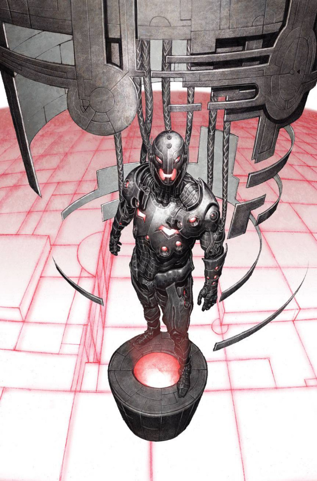 Age of Ultron #1 (Hitch Cover)