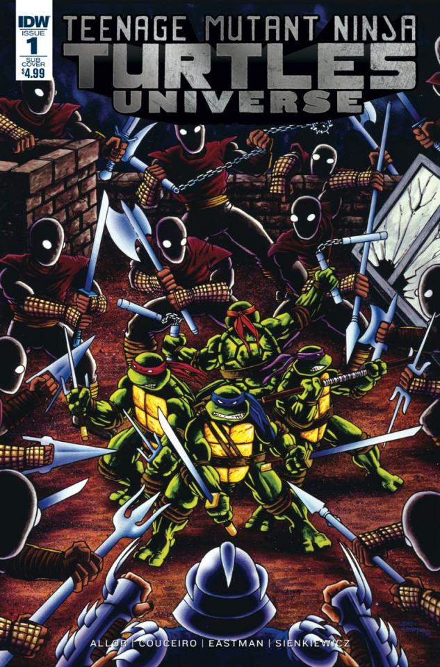 Teenage Mutant Ninja Turtles Universe #1 (Subscription Cover)