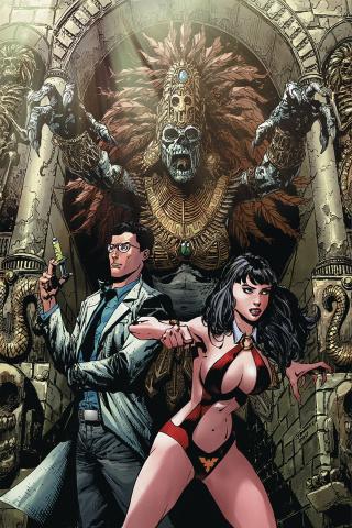 Vampirella vs. Reanimator #1 (40 Copy Desjardins Virgin Cover)