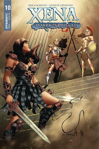Xena #10 (Davila Cover)