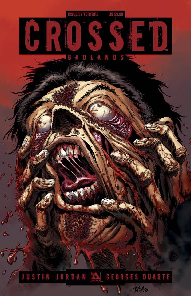 Crossed: Badlands #57 (Torture Cover)