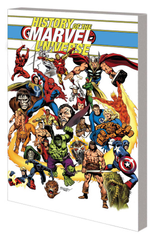 History of the Marvel Universe (Buscema Cover)
