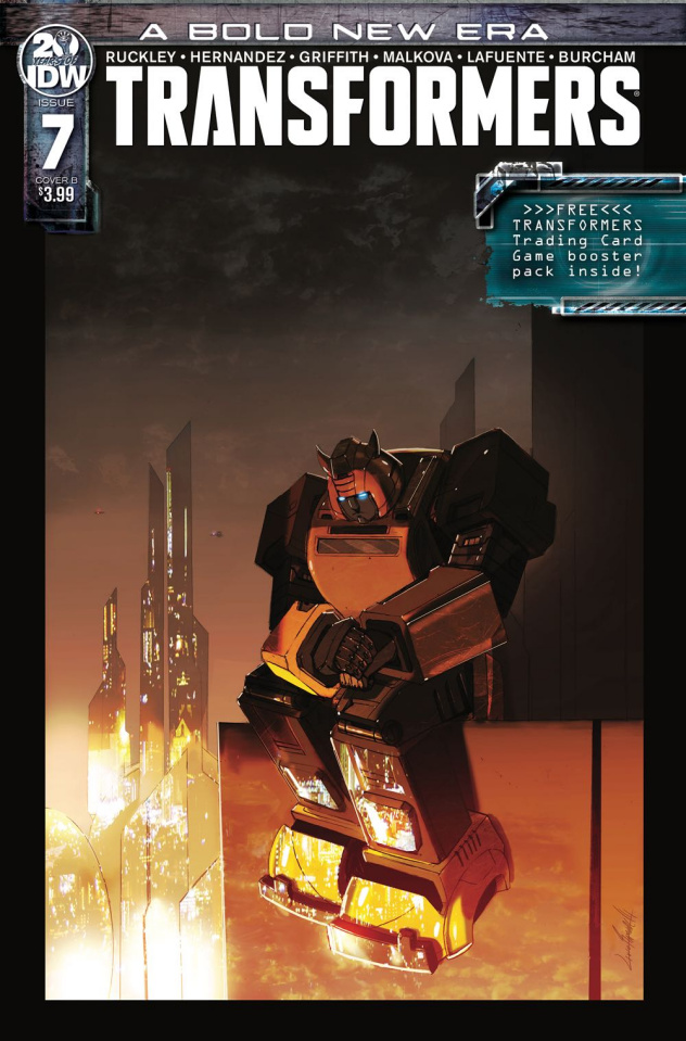 The Transformers #7 (Ramondelli Cover)