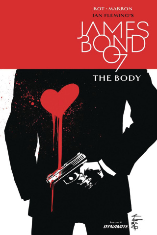 James Bond: The Body #4 (10 Copy Casalanguida B&W Cover)