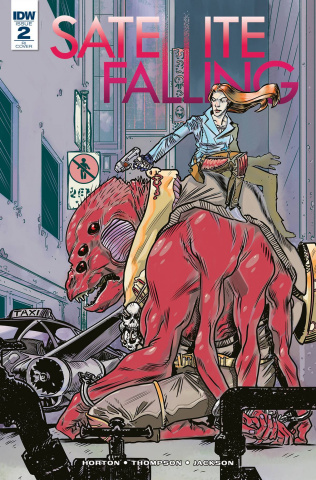 Satellite Falling #2 (10 Copy Cover)