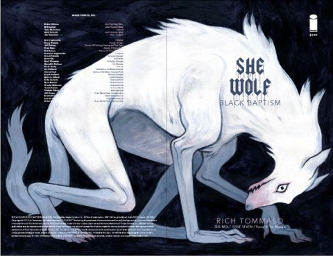 She Wolf #7 (Women's History Month Charity Cover)