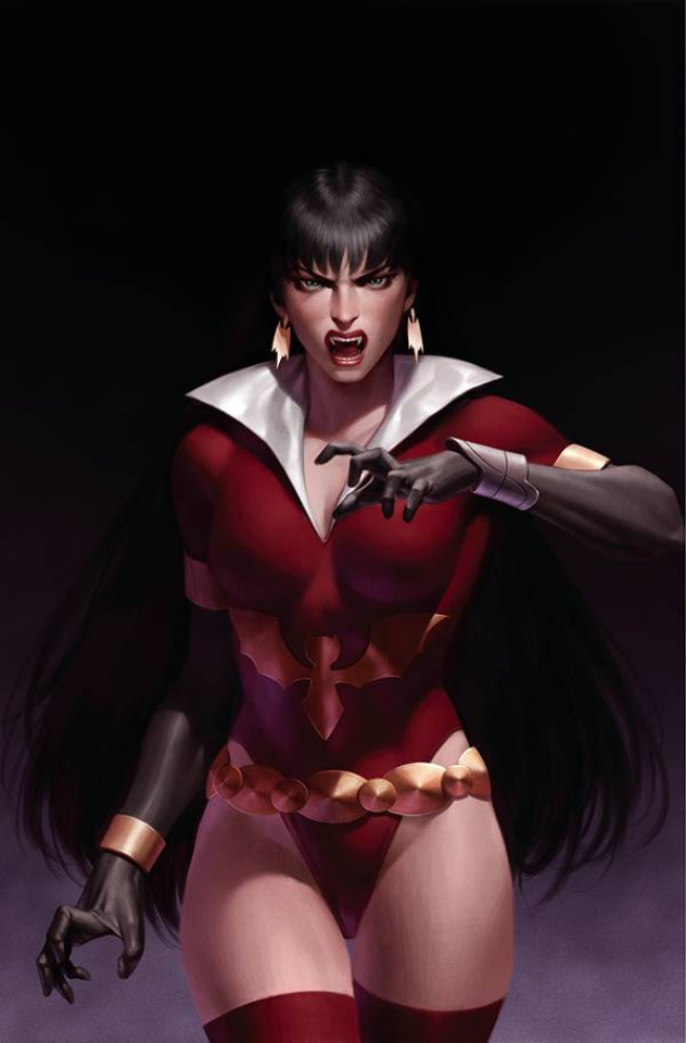 Vampirella: The Dark Powers #5 (Yoon Virgin Cover)