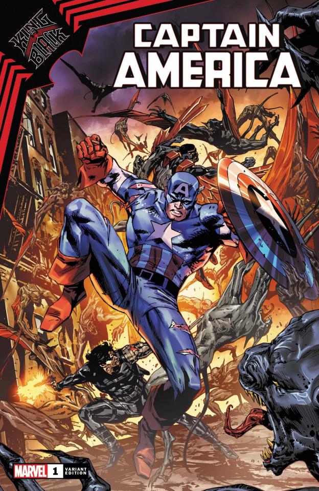 King in Black: Captain America #1 (Guice Cover)