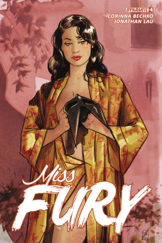 Miss Fury #4 (Lotay Cover)