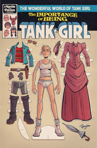 The Wonderful World of Tank Girl #2 (Parson Cover)