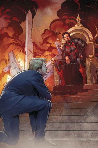 E.V.I.L. Heroes #2 (Cuffari Cover)