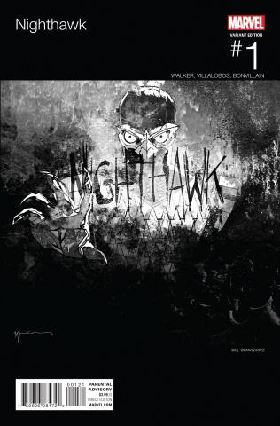 Nighthawk #1 (Sienkiewicz Hip Hop Cover)