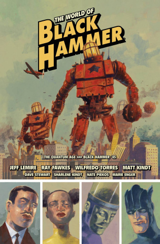 The World of Black Hammer Vol. 2 (Library Edition)