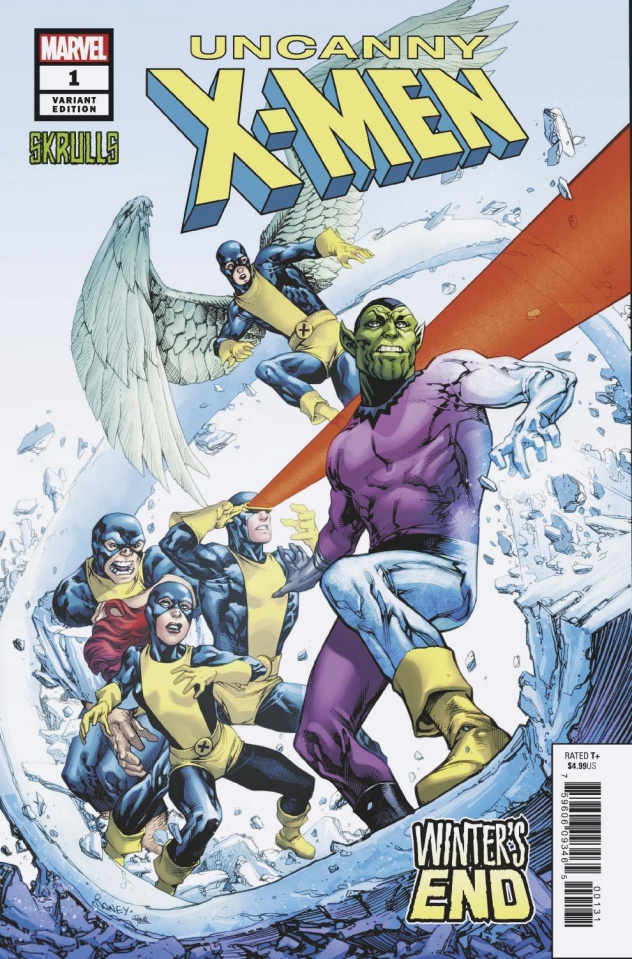 Uncanny X-Men: Winter's End #1 (Raney Skrulls Cover)