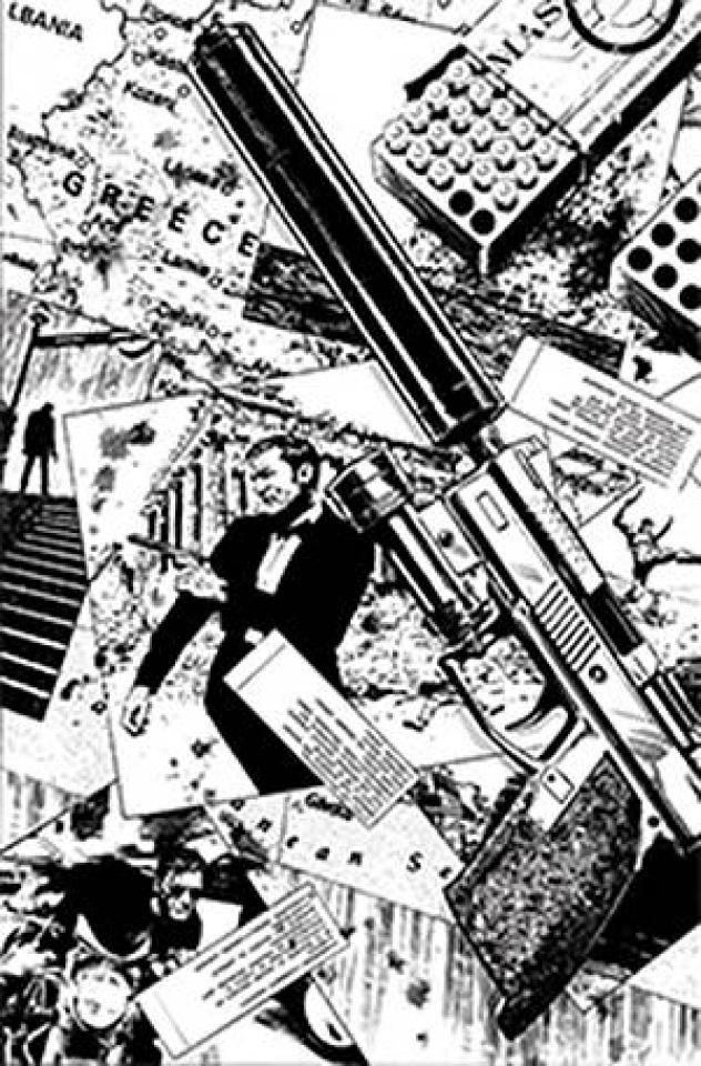 James Bond: Agent of SPECTRE #4 (25 Copy Guice B&W Virgin Cover)