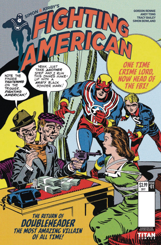 Fighting American: The Ties That Bind #2 (Kirby Cover)