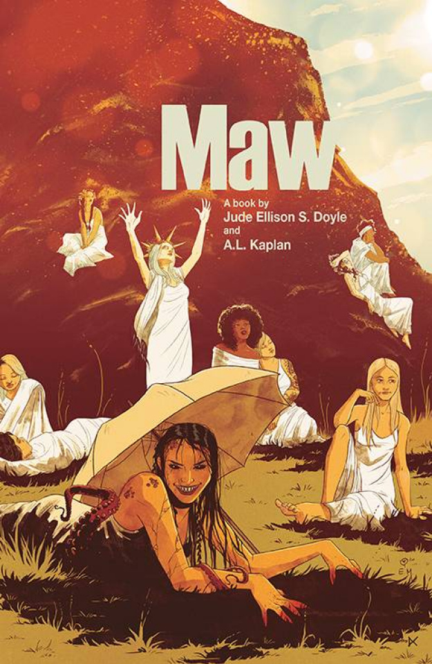 Maw #1 (Hutchison-Cates Cover)