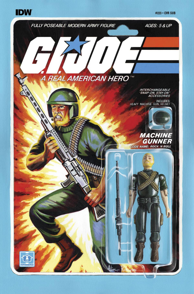 G.I. Joe: A Real American Hero #223 (Subscription Cover)