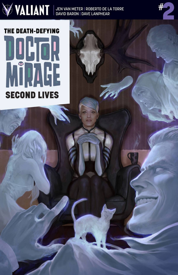 The Death-Defying Doctor Mirage: Second Lives #2 (Djurdjevic Cover)