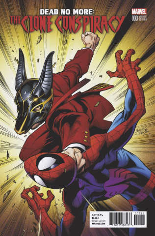 The Clone Conspiracy #3 (Bagley Cover)