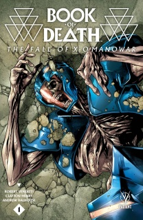 Book of Death: The Fall of X-O Manowar #1 (Segovia Cover)