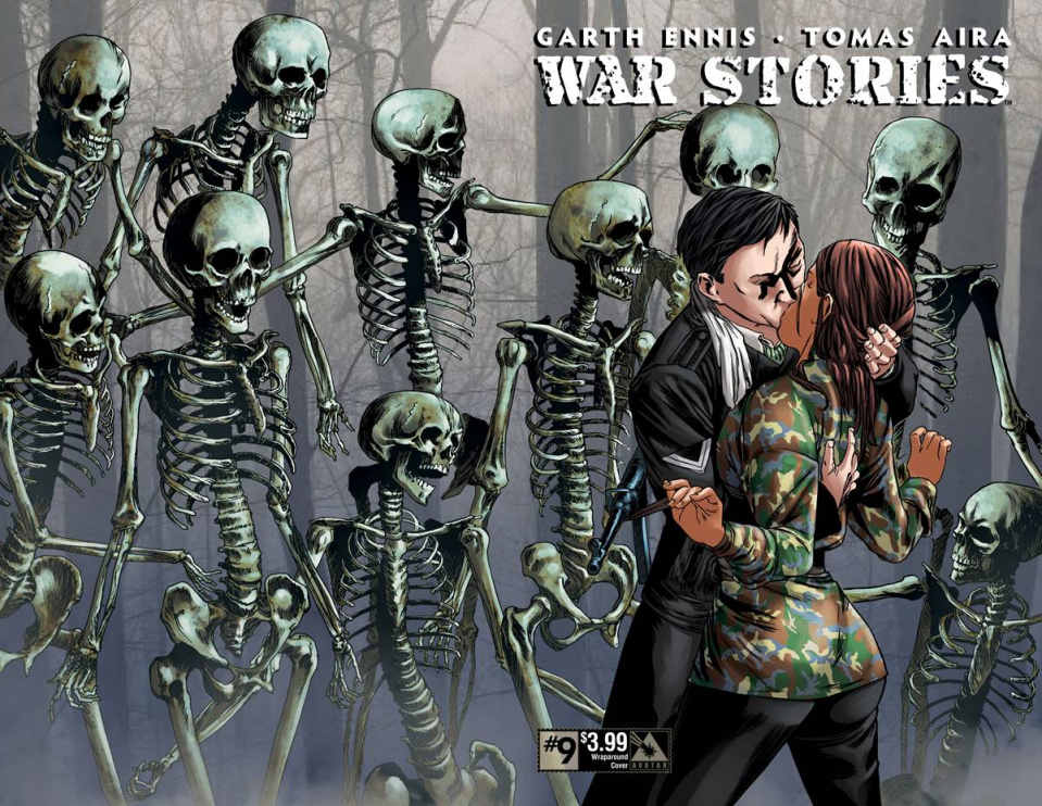 War Stories #9 (Wrap Cover)
