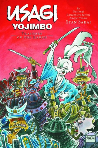 Usagi Yojimbo Vol. 26: Traitors of the Earth