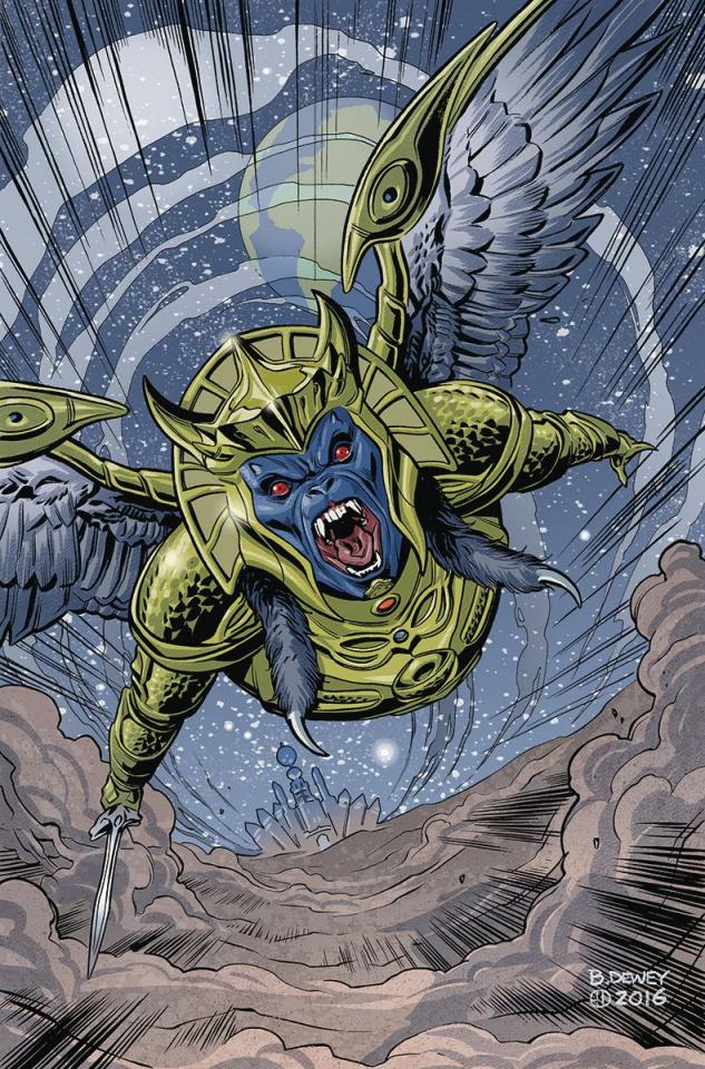 Mighty Morphin' Power Rangers #7 (Unlock Villian Cover)