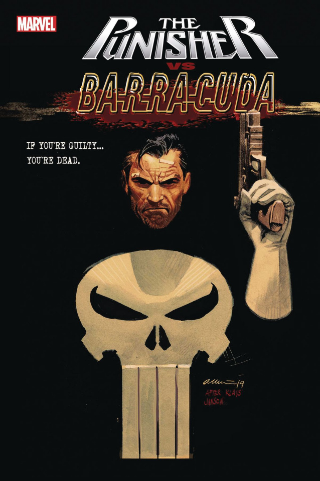 The Punisher vs. Barracuda #1 (Acuna Cover)