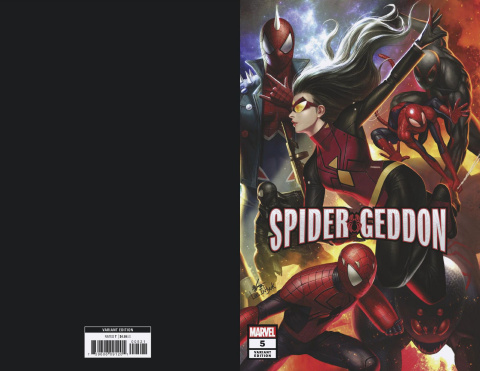 Spider-Geddon #5 (In Hyuk Lee Connecting Cover)