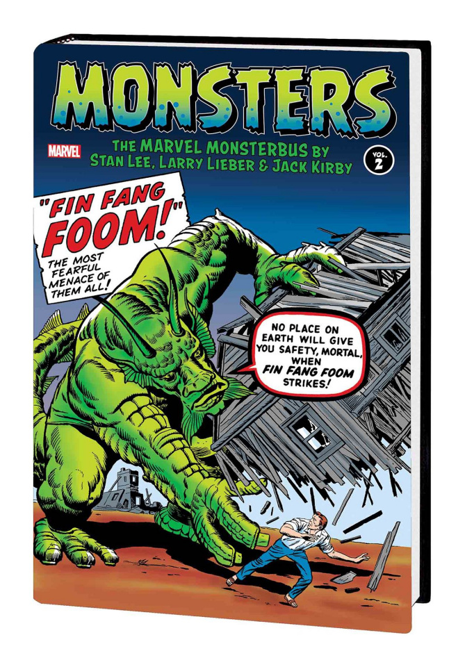 Monsters Vol. 2: Marvel Monsterbus by Lee, Lieber & Kirby