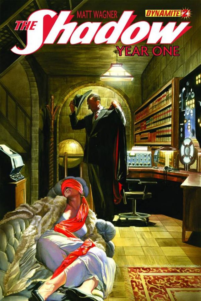 The Shadow: Year One #2 (Ross Cover)