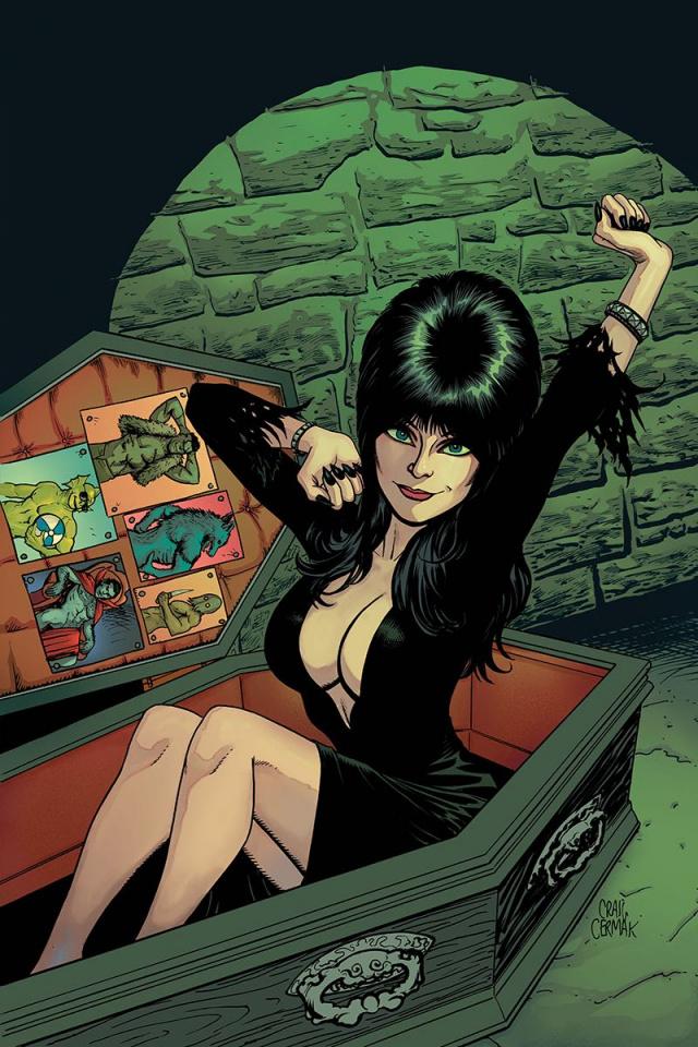 Elvira: Mistress of the Dark #12 (10 Copy Cermak Virgin Cover)