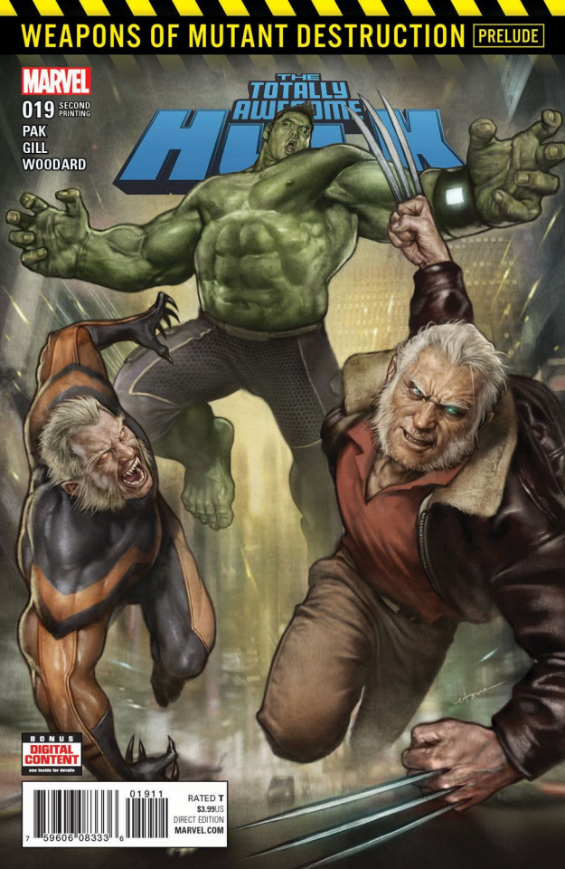 Totally Awesome Hulk #19 (2nd Printing Seok Cover)