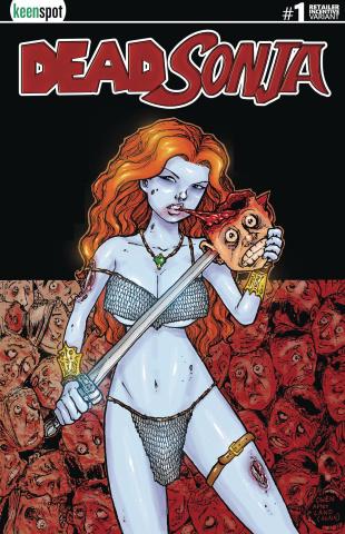 Dead Sonja #1 (Free Splat Queen Cover)