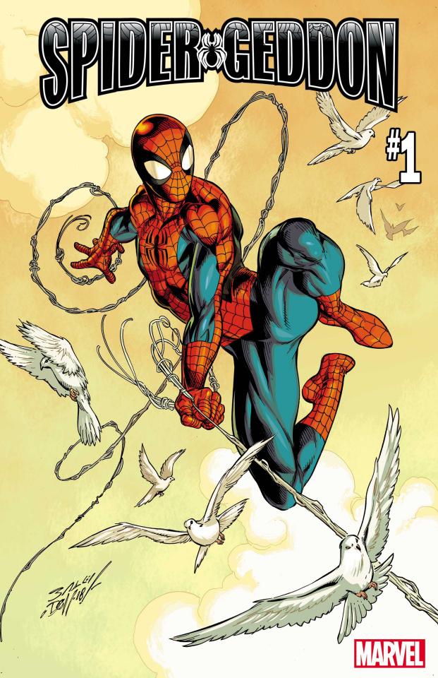 Spider-Geddon #1 (Bagley Peter Parker Spider-Man Cover)