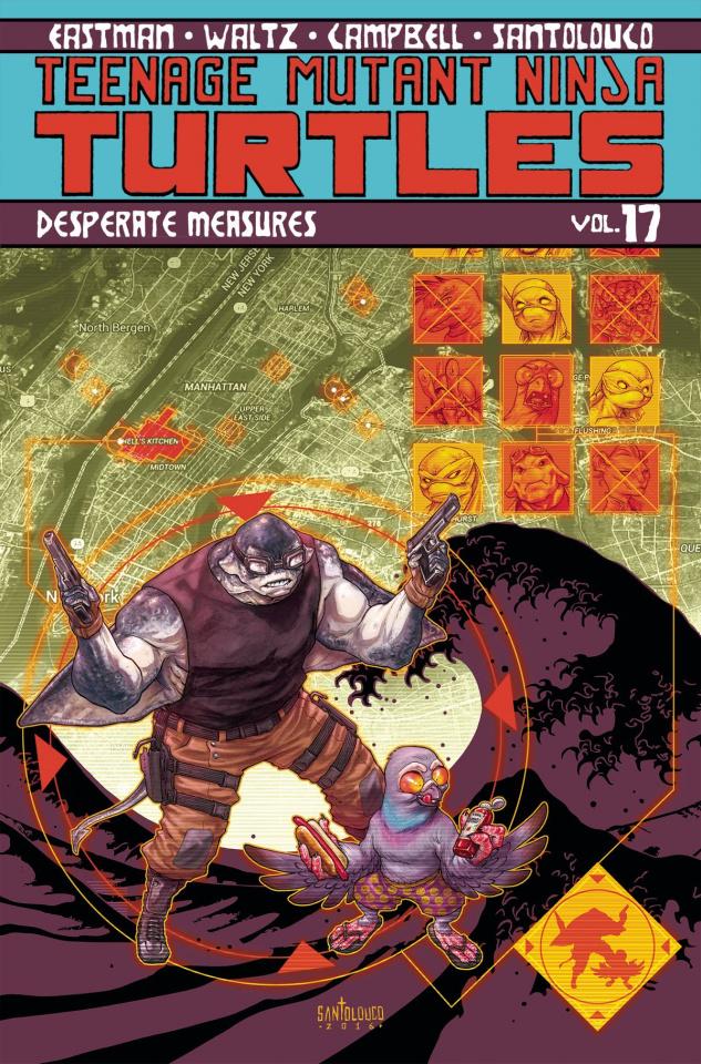 Teenage Mutant Ninja Turtles Vol. 17: Desperate Measures