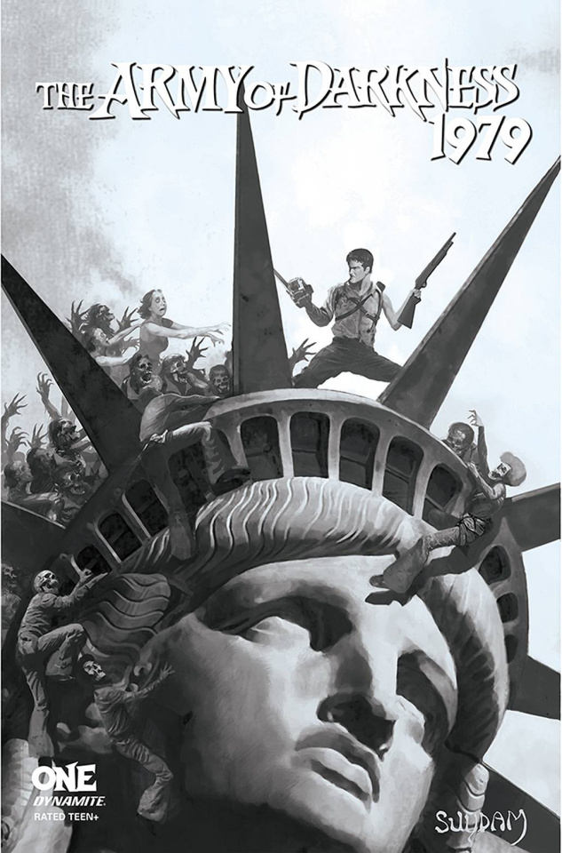 The Army of Darkness: 1979 #1 (10 Copy Suydam B&W Cover)
