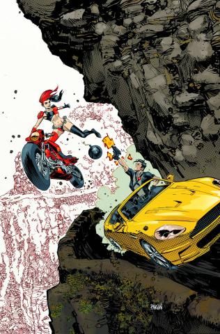 Grayson #7 (Harley Quinn Cover)